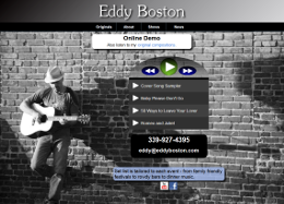 Eddy Boston web site
